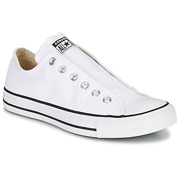 Schoenen Dames Instappers Converse CHUCK TAYLOR ALL STAR SLIP CORE BASICS Wit