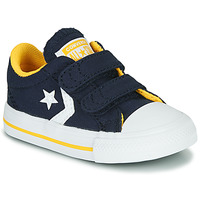 Schoenen Jongens Lage sneakers Converse STAR PLAYER 2V VARSITY CANVAS Blauw