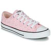 Schoenen Kinderen Lage sneakers Converse CHUCK TAYLOR ALL STAR DAISY CROCHET Roze