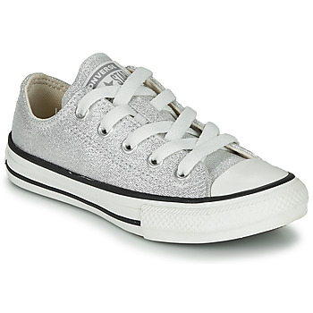 Schoenen Kinderen Lage sneakers Converse CHUCK TAYLOR ALL STAR SUMMER SPARKLE Grijs