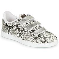 Schoenen Dames Lage sneakers Victoria TENIS SERPIENTE VELCRO Grijs