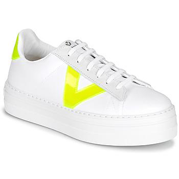 Schoenen Dames Lage sneakers Victoria BARCELONA LONA Wit