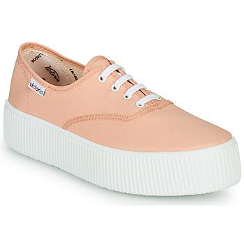 Schoenen Dames Lage sneakers Victoria DOBLE LONA Corail