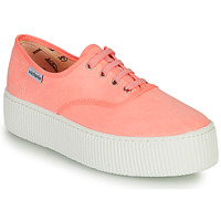Schoenen Dames Lage sneakers Victoria DOBLE FLUO Corail