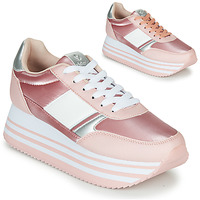 Schoenen Dames Lage sneakers Victoria COMETA DOBLE METAL Roze