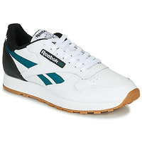 Schoenen Heren Lage sneakers Reebok Classic CL LEATHER MU Wit / Zwart