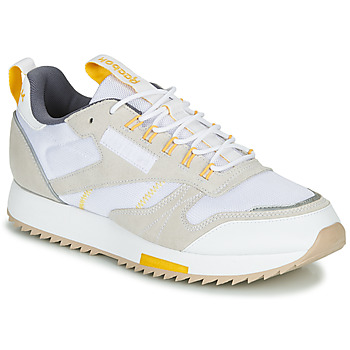 Schoenen Dames Lage sneakers Reebok Classic CL LEATHER RIPPLE T Beige / Wit