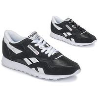 Schoenen Dames Lage sneakers Reebok Classic CL NYLON Zwart