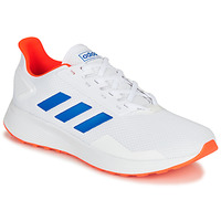 Schoenen Heren Running / trail adidas Performance DURAMO 9 Wit / Blauw