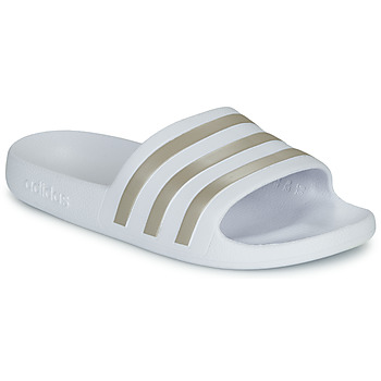 Schoenen Dames Slippers adidas Performance ADILETTE AQUA Wit
