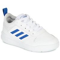 Schoenen Jongens Lage sneakers adidas Performance TENSAUR K Wit / Blauw