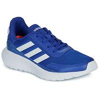 Schoenen Jongens Lage sneakers adidas Performance TENSAUR RUN K Blauw / Wit