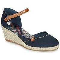 Schoenen Dames Sandalen / Open schoenen Dockers by Gerli 36IS210-667 Marine