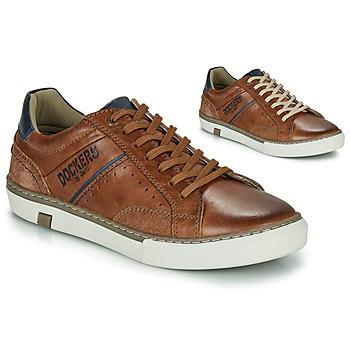 Schoenen Heren Lage sneakers Dockers by Gerli 46CM002-440 Cognac