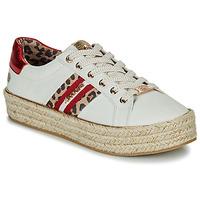 Schoenen Dames Lage sneakers Dockers by Gerli 46GV202-509 Wit / Multi