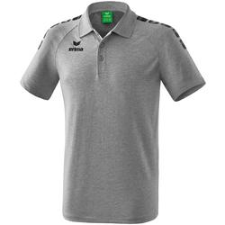 Textiel Polo's korte mouwen Erima Polo  5-C Essential gris