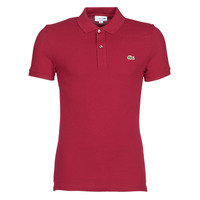 Textiel Heren Polo's korte mouwen Lacoste PH4012 SLIM Bordeaux