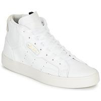 Schoenen Dames Hoge sneakers adidas Originals adidas SLEEK MID W Wit