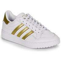 Schoenen Dames Lage sneakers adidas Originals MODERN 80 EUR COURT W Wit / Goud