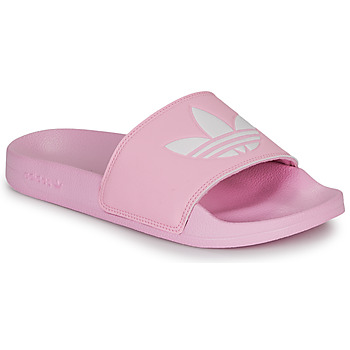 Schoenen Dames Slippers adidas Originals ADILETTE LITE W Roze