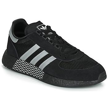 Schoenen Lage sneakers adidas Originals MARATHON TECH Zwart / Wit