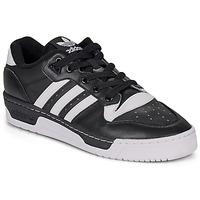 Schoenen Lage sneakers adidas Originals RIVALRY LOW Zwart / Wit