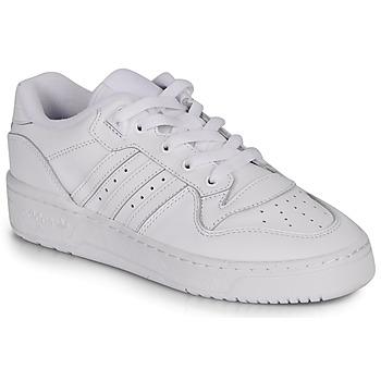 Schoenen Dames Lage sneakers adidas Originals RIVALRY LOW W Wit