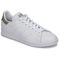 Schoenen Lage sneakers adidas Originals STAN SMITH Wit / Beige
