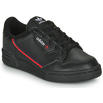 Schoenen Kinderen Lage sneakers adidas Originals CONTINENTAL 80 C Zwart