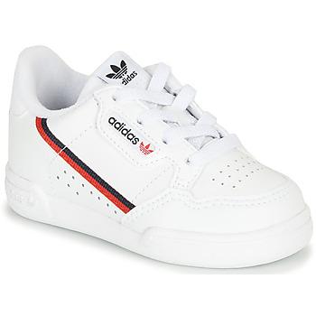 Schoenen Kinderen Lage sneakers adidas Originals CONTINENTAL 80 I Wit