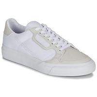 Schoenen Kinderen Lage sneakers adidas Originals CONTINENTAL VULC J Wit / Beige