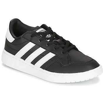 Schoenen Kinderen Lage sneakers adidas Originals Novice C Zwart / Wit