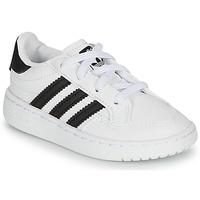 Schoenen Kinderen Lage sneakers adidas Originals NOVICE EL I Wit / Zwart