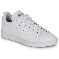 Schoenen Kinderen Lage sneakers adidas Originals STAN SMITH J Wit
