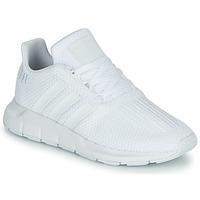 Schoenen Jongens Lage sneakers adidas Originals SWIFT RUN C Wit