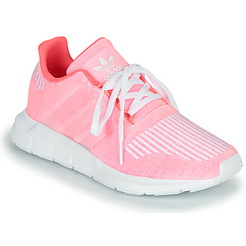 Schoenen Meisjes Lage sneakers adidas Originals SWIFT RUN J Roze