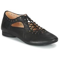 Schoenen Dames Derby Think GUAD Zwart