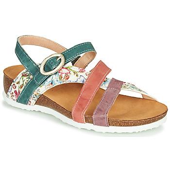 Schoenen Dames Sandalen / Open schoenen Think JULIA Rood / Groen / Wit