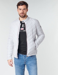 Textiel Heren Dons gevoerde jassen Guess SUPER FITTED JKT TRAVEL Wit