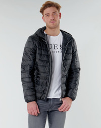 Textiel Heren Dons gevoerde jassen Guess SUPER LIGHT ECO-FRIENDLY JKT Zwart