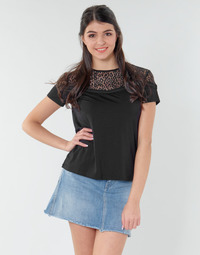 Textiel Dames Tops / Blousjes Guess ALICIA TOP Zwart