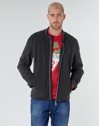 Textiel Heren Wind jackets Guess CUMMUTER JACKET Zwart