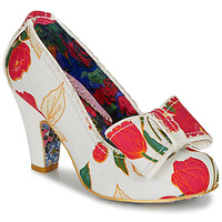Schoenen Dames pumps Irregular Choice SUMMER FRECKLES Wit / Rood