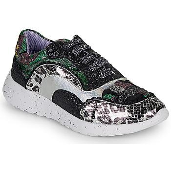 Schoenen Dames Lage sneakers Irregular Choice JIGSAW Zwart / Zilver