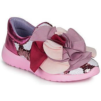 Schoenen Dames Lage sneakers Irregular Choice RAGTIME RUFFLES Roze