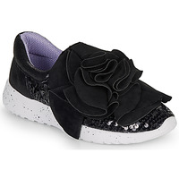 Schoenen Dames Lage sneakers Irregular Choice RAGTIME RUFFLES Zwart
