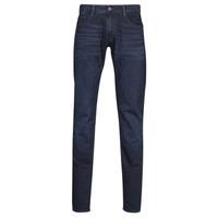 Textiel Heren Skinny jeans Le Temps des Cerises 711 JOGG Blauw /  zwart