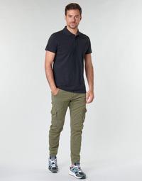 Textiel Heren Cargobroek Le Temps des Cerises ALBAN Kaki
