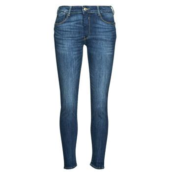 Textiel Dames Straight jeans Le Temps des Cerises PULP REGULAR Blauw