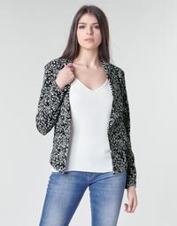 Textiel Dames Jasjes / Blazers Le Temps des Cerises OPAL Zwart